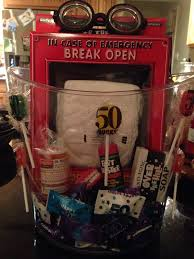 Funny Gift Baskets 17 Best 50th Images On Pinterest 50 Birthday Birthday Party
