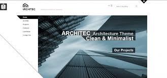 33 best architecture html templates weelii