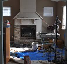 how to install stacked stone veneer wall tiles with how to build a stone fireplace