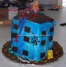 homemade spiderman cake ideas modern homemade