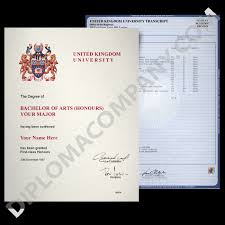 united kingdom diplomas and transcripts college and university