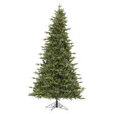 9 pre lit led artificial tree balsam fir multicolored