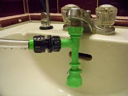 Attach Hose To Kitchen Sink by Sink To Garden Hose Adapter The Gardens