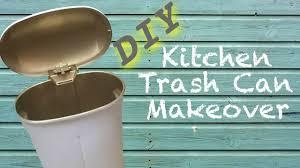 Green Kitchen Trash Can Diy Furniture Makeover Kitchen Trash Can Youtube