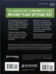 best afoqt study guide master the military flight aptitude tests peterson u0027s