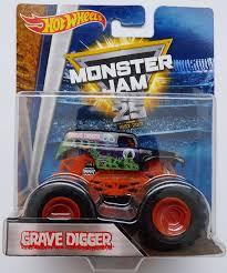 grave digger monster truck theme song 1 64 wheels monster jam grave digger 25th anniversary black