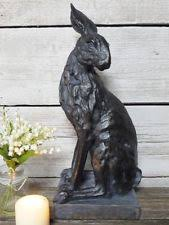 plastic resin rabbits garden ornaments ebay