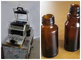 semi automatic round bottle labeling machine on sales quality