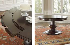 photo circular extendable dining table images good looking