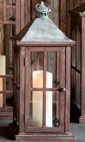 Patio Latern Rustic Patio Lantern Candle Lantern Park Hill Collection