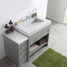Gray Vanity Top Grey Bathroom Vanities U0026 Vanity Cabinets Shop The Best Deals For