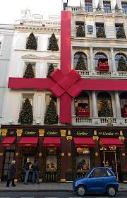 Christmas Decorations Oxford Street - the fashionable bond street europe u0027s most expensive retail