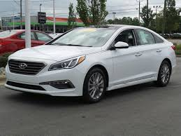used certified one owner 2015 hyundai sonata 2 4l limited