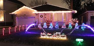 House Decorated Christmas Lights Music local light displays where to see the best christmas lights