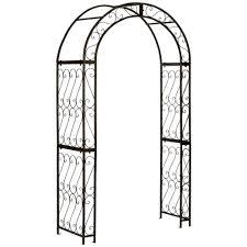Trellis Arch Garden Arbor Metal U2013 Satuska Co