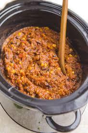 chili cuisine vegan cooker bean quinoa chili 10 ingredients from my bowl