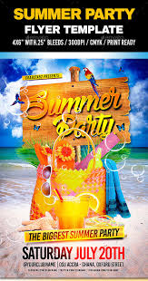 summer party flyers u2013 38 free psd ai vector eps format download