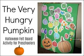 crayon freckles the hungry pumpkin thanksgiving felt board