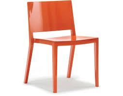 Orange Chair by Lizz Stacking Chair 2 Pack Hivemodern Com