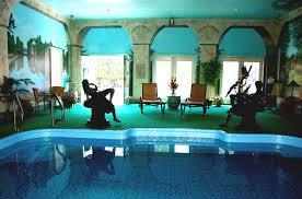 brilliant indoor pool with slide inside design ideas