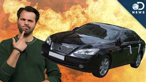 lexus ls hydrogen will your hydrogen car explode youtube