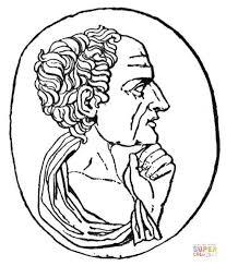 imagenes de zeus para dibujar faciles dibujo de aristóteles enseñando para colorear dibujos para