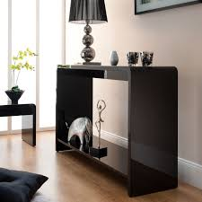 Black Console Table Tv Console Table Idea Home Furniture And Decor