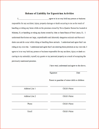 form release of liability form