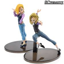 z android 18 z figure android 18 lazuli pvc figure 180mm