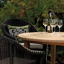 Veranda Collection Patio Furniture Covers - round dining table veranda collection by thos baker