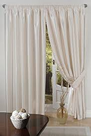 White Ready Made Curtains Uk Faux Silk Luxury Ready Made Curtains Lined Tape Top Pencil Pleat