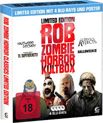 rob zombie horror kultbox blu ray limited edition mit