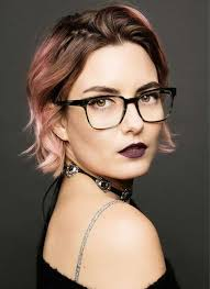 hairstyles glasses round faces chic short hair ideas for round faces short hairstyles 2017 2018