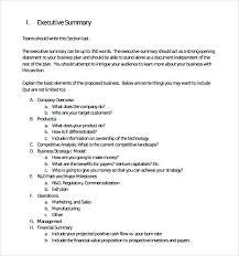 executive summary format template cerescoffee co