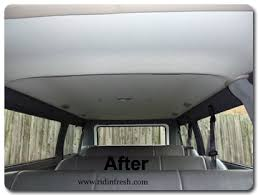 Headliner Upholstery Mobile Commercial Fleet Upholstery Repair Window Tinting