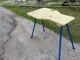 Plans For A Shooting Bench Folding Portable Shooting Bench The Fal Files