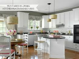 painting cherry kitchen cabinets white kitchen redo reveal from darkness to light 11 magnolia