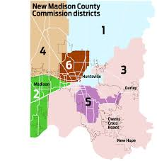 alabama zone map county adopts commission districts to reflect