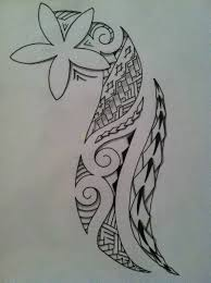 Polynesian Flower Tattoo - tribal polynesian tattoo design tattoobite com south pacific