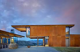 tom kundig u0027s gorgeous corten clad studhorse home is modeled after