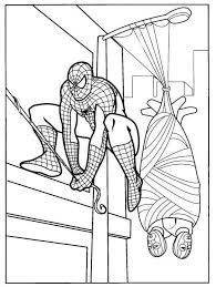 48 spider man coloring pages images spiderman