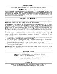 Server Sample Resume by Free As400 Resume Example