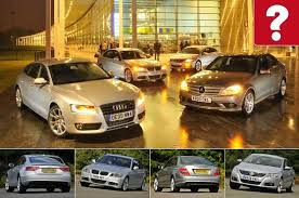second mercedes best used family saloon for 10k audi vs bmw mercedes and vw