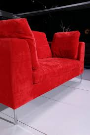 Red Velvet Sofa Set Online Shop Big Red Velvet Fabric Sofa Set 0411 Af099 Aliexpress