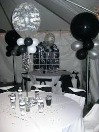 birthday balloons for him 21st birthday balloons for him black white party decoration and
