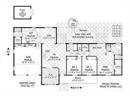 house plans for wide lots ranch house plan with 3 bedrooms and 2 5 baths plan 3080