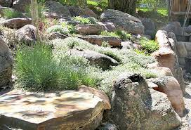 Rock Gardens On Slopes The Bird Garden Landscaping Gardening And Landscape
