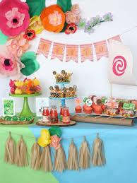 Printable Hawaiian Decorations Moana Boat Tropical Hawaiian Moana Birthday Party Ideas Misc