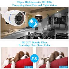 owsoo outdoor security cctv camera 1080p night view motion