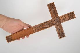 Decorative Wooden Crosses For Wall Madeheart U003e Wall Crucifix Homemade Decorations Wooden Gifts